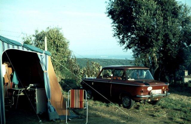 camping urlaub 1969 italien. Black Bedroom Furniture Sets. Home Design Ideas